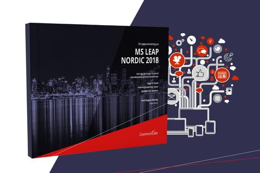 MS LEAP Nordic 2018 Whitepaper. Av Communicate Norge AS